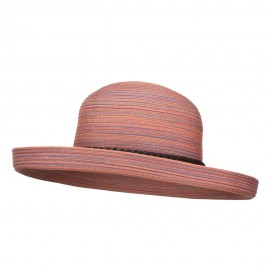 UPF 40+ Color Braid Roll Up Hat