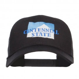 Colorado Centennial State Embroidered Trucker Cap