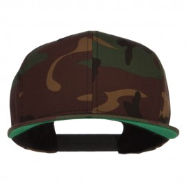 Camo Flexfit Flat Bill Cap