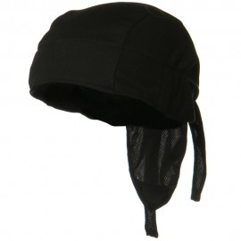 Coolmax and Reg Headwrap - Black