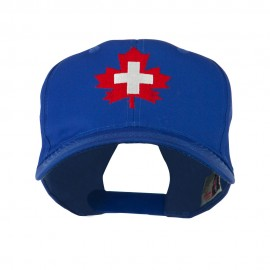 Canada's EMT Medical Maple Leaf Embroidered Cap