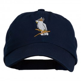 Image of Cockatoo Embroidered Pet Spun Cap