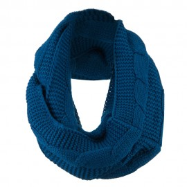 Cable Round Neck Warmer