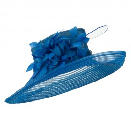 Fashion Sinamay Hat with Crin