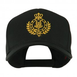 Canadian Air Force Badge Outline Embroidered Cap