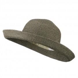Kettle Brim UPF 50+ Cotton Paper Braid Hat