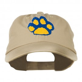 Cat Paw Pet Spun Washed Embroidered Cap