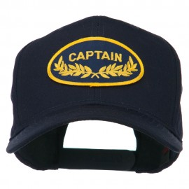 Captain Oak Leaf Military Patched Cap