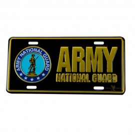 Army 3D Car Plates - National