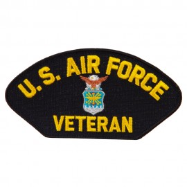 US Airforce Veteran Patch With Logo