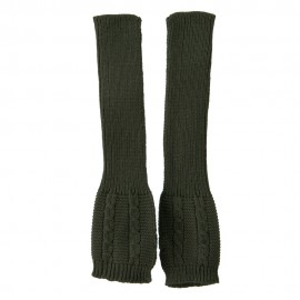 Long Sleeve Cable Stitch Arm Warmer