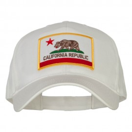 California State Flag Patched New Big Size High Profile Cap
