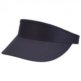 Cotton Twill Golf Clip On Visor - Navy