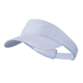 Cotton Twill Washed Soft Visors-Lilac