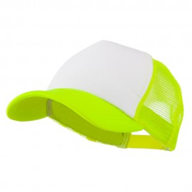 Cotton Trucker Cap-Neon Yellow