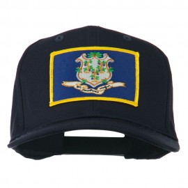 Connecticut State High Profile Patch Cap