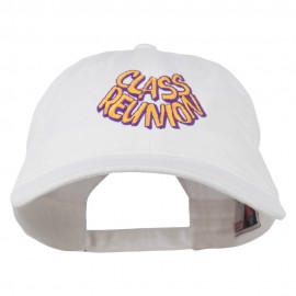 Class Reunion Embroidered Washed Cap