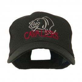 Cavaliers Mascot Embroidered Cap