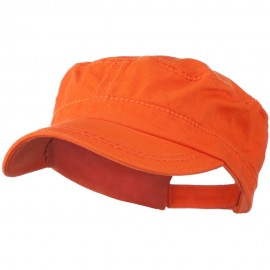 Colorful Washed Military Cap
