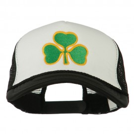 Clover St. Patrick's Day Embroidered Big Size Trucker Cap