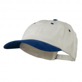 Deluxe Brushed Cotton Two Tone Cap