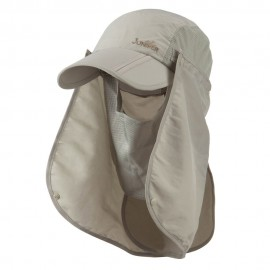UV 50+ Folding Bill Cap with Double Flaps