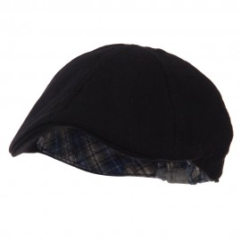 Plain Duck Bill Ivy Hat - Black