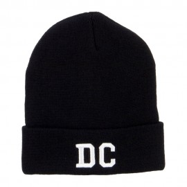 DC Washington State Embroidered Long Beanie