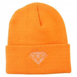 Diamond Neon Embroidered Beanie