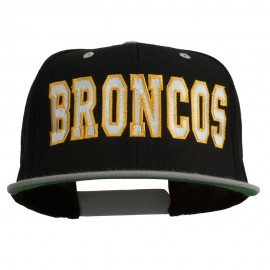 Broncos Embroidered Snapback Cap