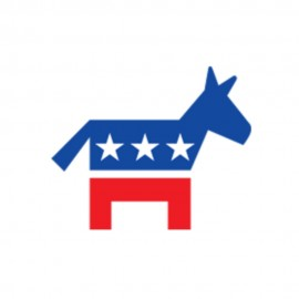 Democratic Donkey Symbol Heat Transfers Sticker