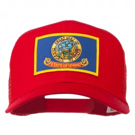 Idaho State Flag Patched Mesh Cap