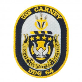 USS CG DDG Twisted Rope Military Patches