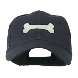 Dog Bone Shape Embroidered Cap