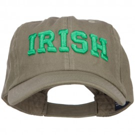 3D Irish Embroidered Low Profile Cap