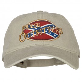 Dixie Outfitters Heat Transfers Printed Washed Cotton Twill Cap