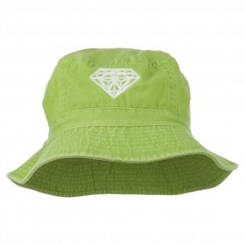 Diamond Jewelry Logo Embroidered Bucket Hat