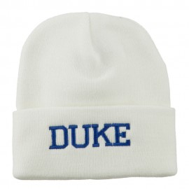 Halloween Character Duke Embroidered Beanie