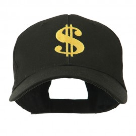 Dollar Sign Logo Embroidered Cap