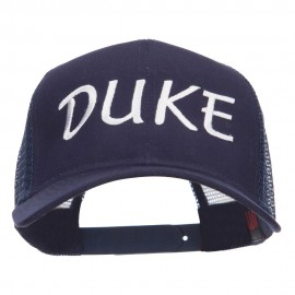 Halloween Duke Embroidered Mesh Cap