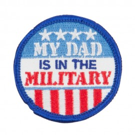 My Dad's in Military Patches