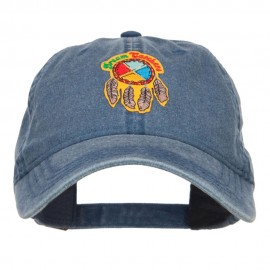 Dream Catchers Patched Washed Cap - Navy