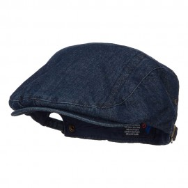 Washed Denim Ivy Cap