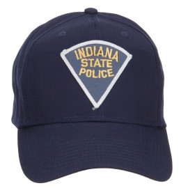 Indiana State Police Patch Cap
