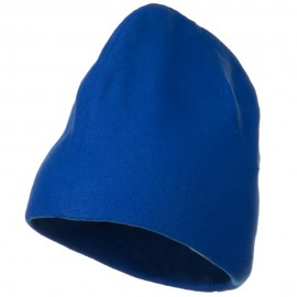 Deluxe Polar Fleece Beanie - Royal