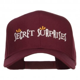Secret Surprises Embroidered High Profile Cap