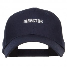 Mini Director Embroidered Cotton Cap