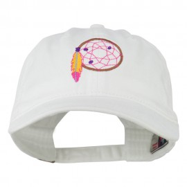 Dream Catcher Embroidered Washed Cap