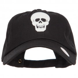 Glow in the Dark Skull Halloween Unstructured Cap