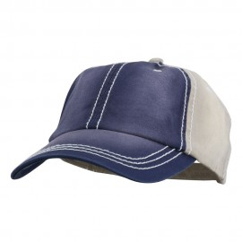 Cotton Twill Wash Distressed Cap